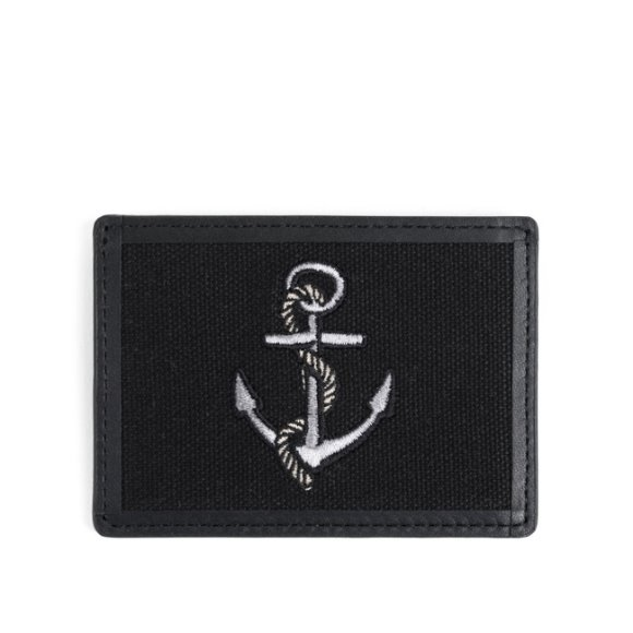 ANCHOR CARD CASE (black)