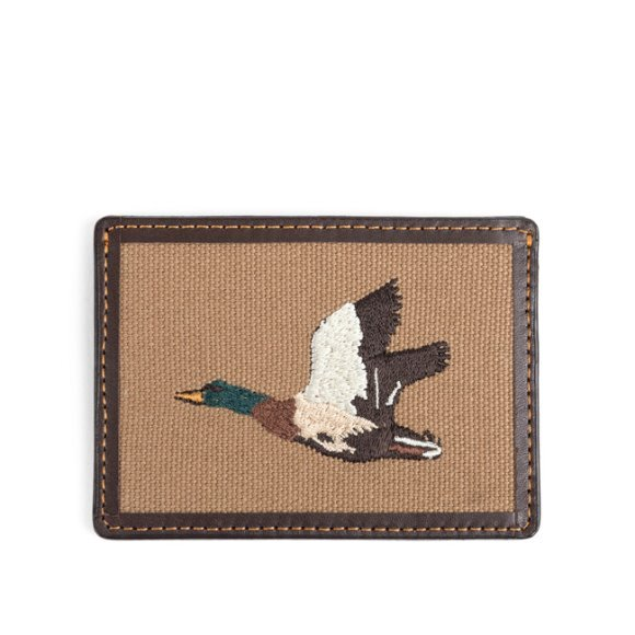 MALLARD CARD CASE (brown)